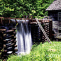 Grist Mill And Water Trough by Paul W Faust -  Impressions of Light