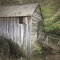 Grist Mill At Cades Cove by Alice Gipson