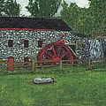 Grist Mill At Wayside Inn by Cliff Wilson