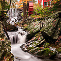 Grist Mill-bridgewater Connecticut by Expressive Landscapes Fine Art Photography by Thom