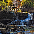 Grist Mill In Babcock State Park West Virginia by Kathleen K Parker