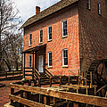 Grist Mill In Hobart Indiana by Paul Velgos
