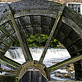 Grist Mill Wheel With Spillway by Thomas Woolworth