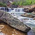 Gristmill At The Creek by Mary Almond