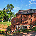 Gristmill At The Farmstead by Mary Almond