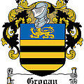 Grogan Coat Of Arms Irish by Heraldry
