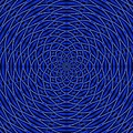 Mandala Blue Marvel by Doug Morgan