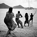 Gros Islet Fishermen by Ferry Zievinger