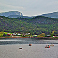 Gros Morne Mountain Over Bonne Bay At Norris Point In Gros Morne Np-nl by Ruth Hager