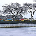 Grosse Pointe Pier Park by Dona  Dugay