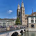 Grossmuenster Zurich by Carsten Reisinger