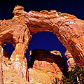 Grosvenor Arch Sunset Kodachrome Basin by Ed  Riche