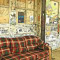 Front Porch - Ground Zero Blues Club Clarksdale Ms by Rebecca Korpita