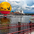 Grounded By The Storm Balloon Ride Walt Disney World by Thomas Woolworth