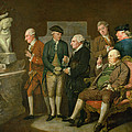 Group Of Connoisseurs by Richard Cosway