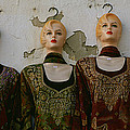 Group Of Mannequins In A Market Stall by Panoramic Images