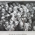 Group Of Thirty-five Heads by Louis Leopold Boilly