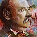 Grover Cleveland by Corporate Art Task Force