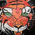 Growling Tiger by Sherry Cordle
