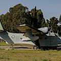 Grumman Hu-16 Albatros Of The Hellenic by Timm Ziegenthaler