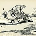 Grumman J2f-2a  Amphibian by Hank Clark