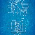 Grumman Retractable Landing Gear Patent Art 1932 Blueprint by Ian Monk