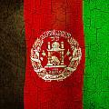 Grunge Afghanistan Flag by Steve Ball