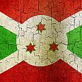 Grunge Burundi Flag by Steve Ball