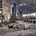 Grunge Cityscape by Roberto Pagani