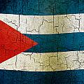 Grunge Cuba Flag by Steve Ball