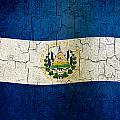 Grunge El Salvador Flag by Steve Ball