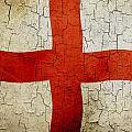 Grunge England Flag by Steve Ball