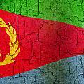 Grunge Eritrea Flag by Steve Ball