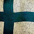 Grunge Finland Flag by Steve Ball