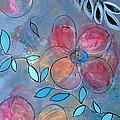 Grunge Floral II by Ruth Palmer
