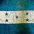 Grunge Honduras Flag by Steve Ball