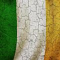 Grunge Ireland Flag by Steve Ball