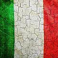 Grunge Italy Flag by Steve Ball