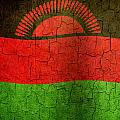 Grunge Malawi Flag by Steve Ball