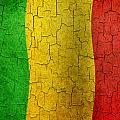 Grunge Mali Flag by Steve Ball