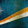 Grunge Marshall Islands Flag by Steve Ball