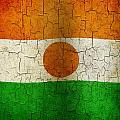 Grunge Niger Flag by Steve Ball