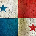 Grunge Panama Flag by Steve Ball