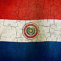 Grunge Paraguay Flag by Steve Ball