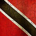 Grunge Trinidad And Tobago Flag by Steve Ball