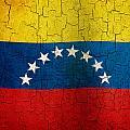 Grunge Venezuela Flag by Steve Ball