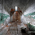 Grungy Prison Cell by Michael Ver Sprill