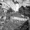 Gruyeres Castle Bw by Timothy Hacker