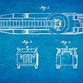 Grybos Fire Truck Patent Art  2 1940 Blueprint by Ian Monk