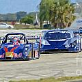 Gtp Prototypes Taking 4 At Sebring by Tad Gage